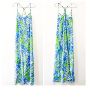 ✨ Lilly Pulitzer | Under The Sea Maxi Dress